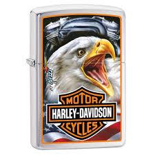 American Flag Zippo Harley Davidson Mazzi Eagle Chrome Windproof Lighter Zippo Com