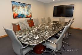 Granite Reception Desk Granite Conference Tables And Reception Desks In St Louis