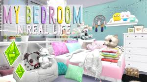 the sims 4 speed build my bedroom youtube