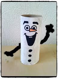 bricolage noel avec rouleau papier toilette olaf en rouleau de papier de toilette u2013 mes humeurs créatives by flo