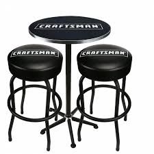 table with 2 stools craftsman pub table and 2 stools combo shop your way online