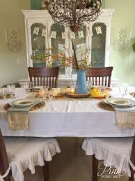 vintage rustic thanksgiving table setting and a story noble vintage