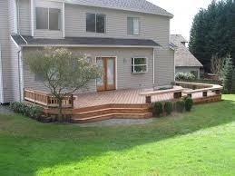 Trex Benches Nw Custom Deck Seattle U0027s Deck Builder Portfolio