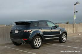 2013 land rover range rover evoque review and road test youtube