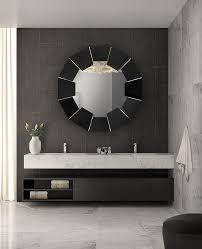 Black Mirror Bathroom Darian Black Mirror Luxxu Modern Design And Living