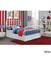 amazing deal ikea leirvik bed frame white full size iron metal