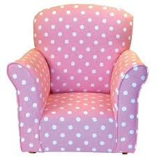 White Childs Rocking Chair Dozydotes Toddler Rocking Chair In Baby Pink With White Polka Dot