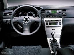 toyota corolla sedan specs 2003 2004 autoevolution