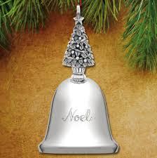 2016 reed u0026 barton noel music bell 37th silverplate ornament