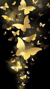 wallpaper for note edge screen flying golden butterflies lockscreen lock screen 1440x2560 samsung