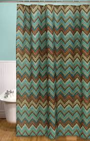 Teal And Brown Shower Curtain Western Shower Curtains Tribal Flamestitch Shower Curtain Lone Star