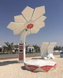 solar powered smart palm trees provide dubai with wifi charging