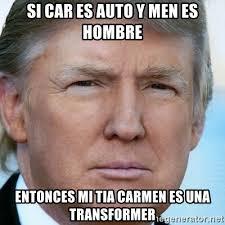 si es auto si car es auto y es hombre entonces mi es una