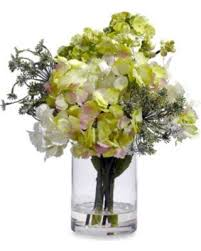 silk flower arrangements amazing deal on nearly natural hydrangea silk flower arrangement spring