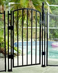 ultimate style safety upgraded child pool fence safety gate 4
