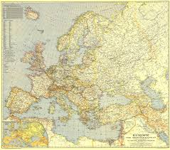 Nat Geo Maps Europe And The Mediterranean Map
