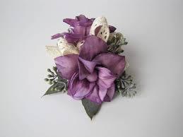 flower corsage magnolia wristlet corsage keepsake wrist corsage prom