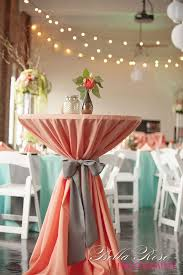 mint wedding decorations coral and mint wedding decorations