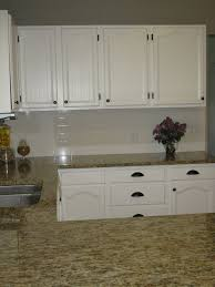 Refurbished Kitchen Cabinets White Cabinets With Oil Rubbed Bronze Hardware And Hinges Home