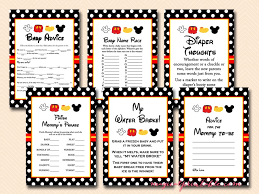 25 mickey mouse baby shower ideas mickey