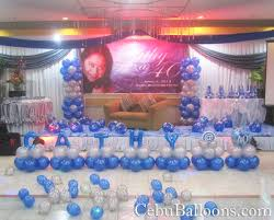 Home Decoration For Birthday by Balloon Decoration Ideas For Stage Home Decor Ideas