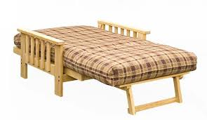 ultralight frame and mattress futon set twin or full with twin