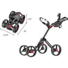 3 wheel golf push cart the best cart