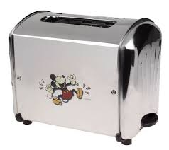 New York Giants Toaster Mickey Mouse Mornin U0027 Musical Stainless Steel 2 Slice Toaster U2014 Qvc Com