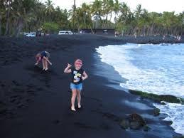 black sand beach big island black sand beach hawaii big island picture of hilo island of