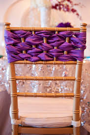 radiant orchid home decor 80 best chair streamers and décor for weddings images on pinterest