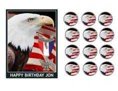 eagle scout cake topper eagle scout ribbon flag court of honor edible cake topper edible