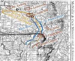 Gang Map Pre 1900 Railroad Map Sundown Trail