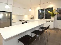 modern l shaped kitchen designs with island the 25 best l shaped