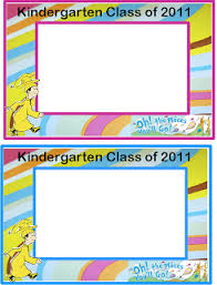 oh the places you ll go graduation gift kindergarten graduation gift oh the places you ll go