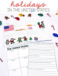 christmas around the world printables