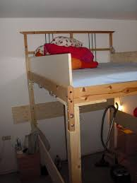 making a loft bed from the dalselv ikea hackers ikea hackers