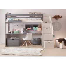 hauteur bureau enfant lit enfant en hauteur mezzanine bahia signe asoral chambre oscar