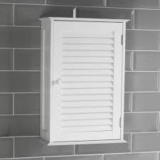 liano bathroom cabinet single double shutter door wall mounted