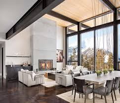 interior design mountain homes modern mountain home boasts chic and stylish living in montana