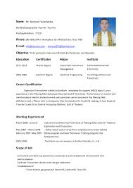 Electrical Technician Resume Sample Resume Electromechanical Technician Resume Exles Near