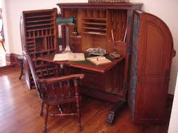 Small Drop Front Secretary Desk by Identifying Antique Writing Desks And Storage Pieces