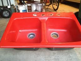 kohler cast iron kitchen sink kohler red kitchen sink kohler cast iron kitchen sink red