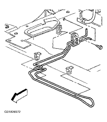 power steering hoses removal u0026 installation 2002 chevy venture