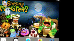 halloween monster background how to make your own my singing monsters wallpaper on your ipad