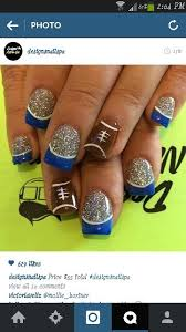 98 best seahawk nail designs images on pinterest seahawks nails
