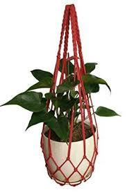 Discount Outdoor Planters by Pots Planters N Container Accessories Macrame Nylon Gold