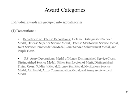 Awards And Decorations Army Recommend Administrative And Personnel Actions Ppt Video Online