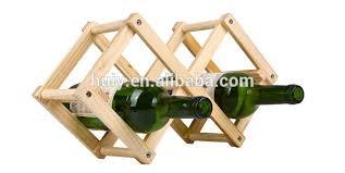 crate u0026 barrel 12 bottle expandable system hard wood wine rack