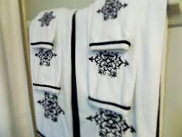 bathroom astonishing bath towels design ideas in white and black