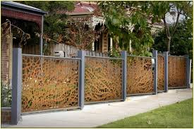 idyllic backyard fence designs and styles as wells as